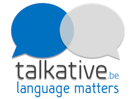 logo Talkative.be - language matters!